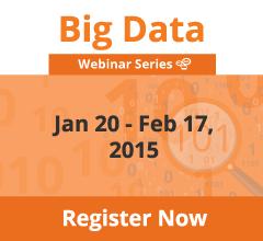 Big Data Webinar Series-2015