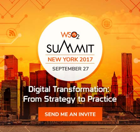 WSO2 Summit NYC