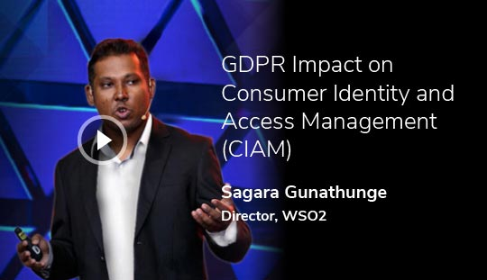 GDPR Impact on Consumer Identity and Access Management (CIAM)