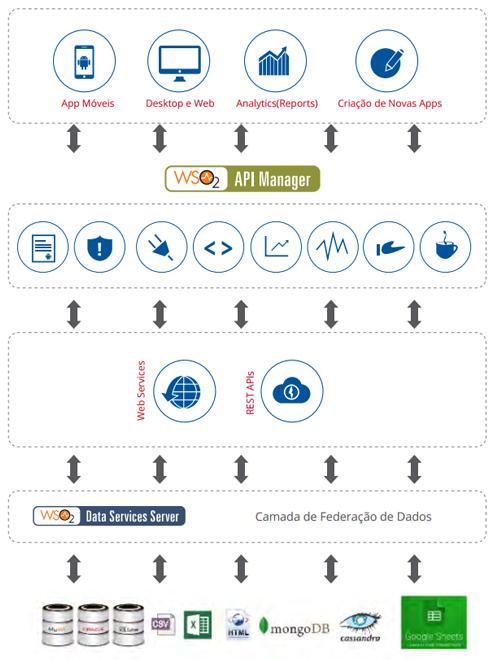 Figura 4 - Adicionando o API Manager sobre sua federação de dados abertos