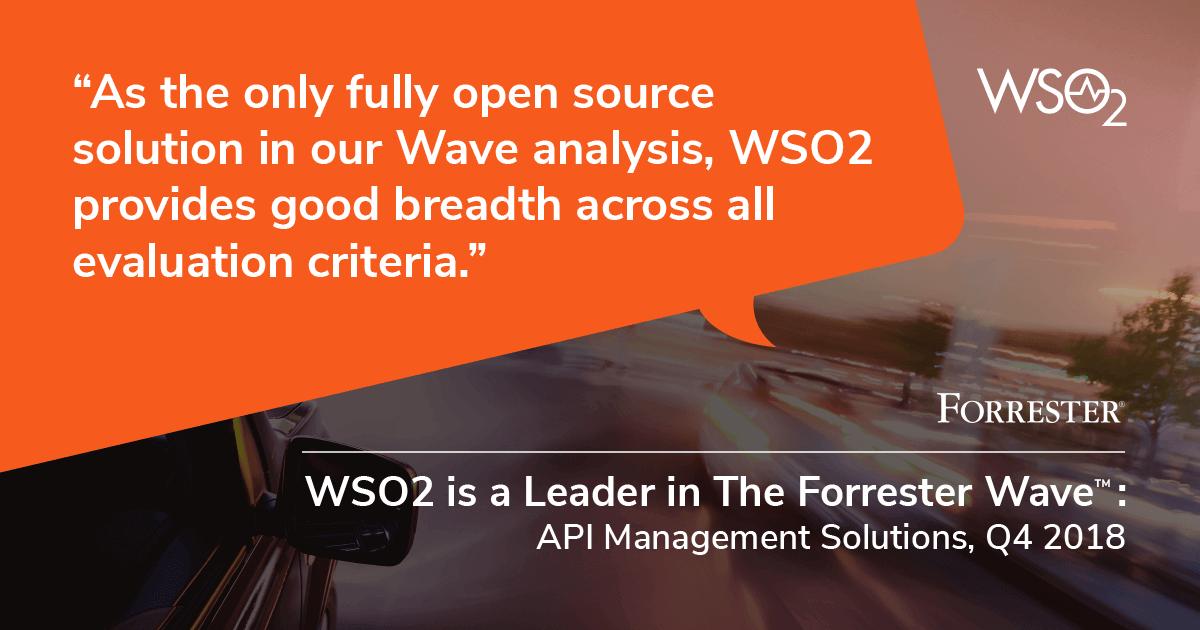 The Forrester Wave : API Management Solutions, Q4 2018
