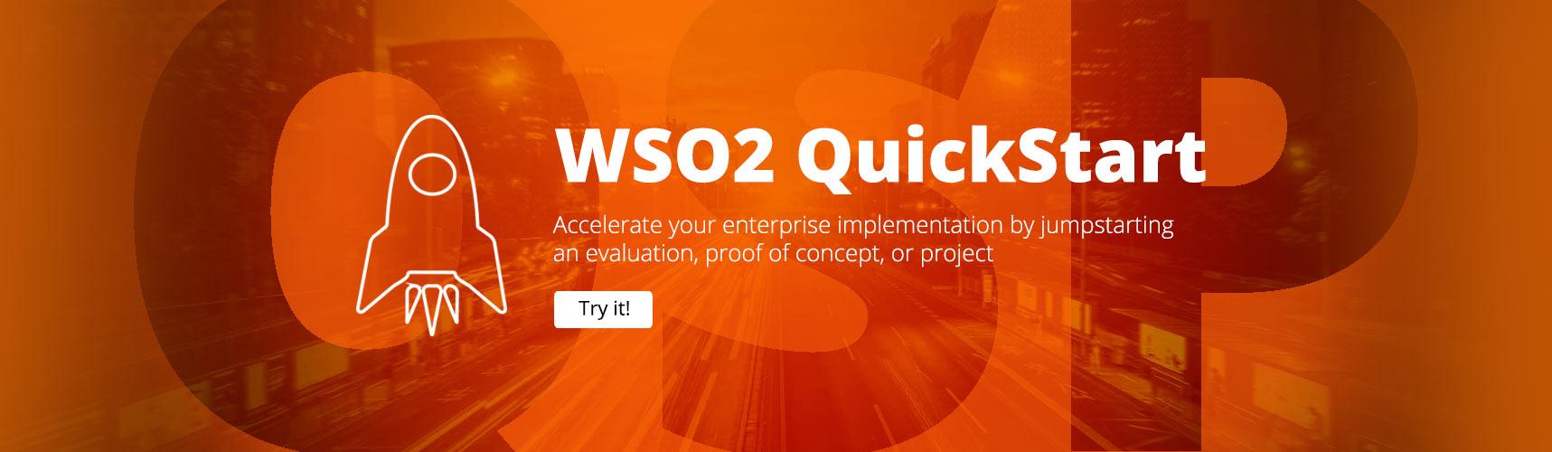 WSO2 QuickStart