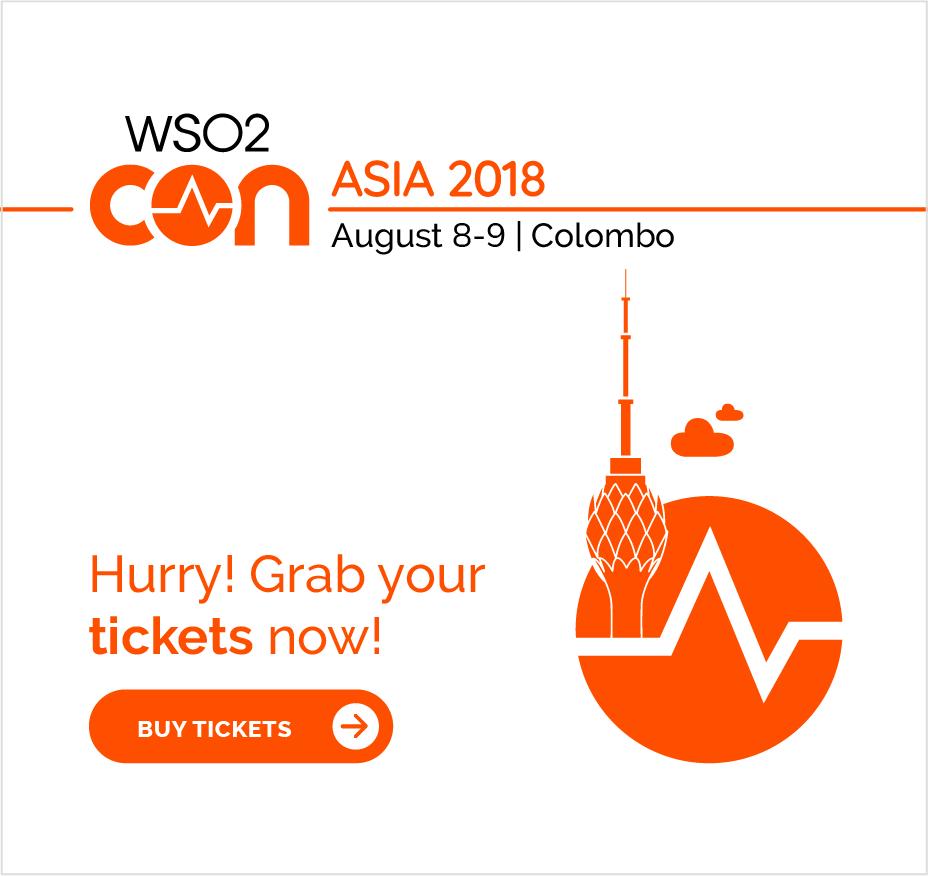 WSO2Con 2018 Asia