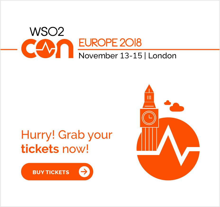 WSO2Con 2018 EU