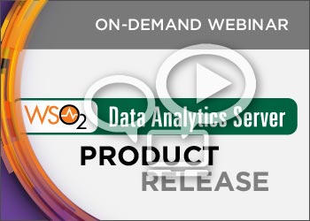 WSO2 Product Release Webinar: WSO2 Data Analytics Server 3.0